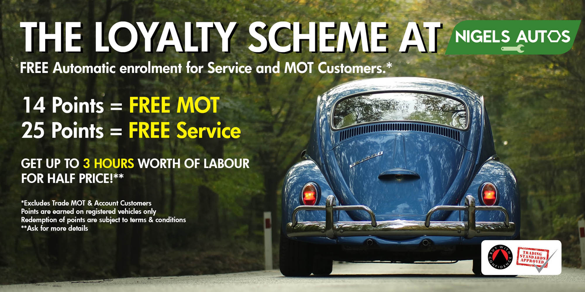 Car Service Discounts | Loyalty | Schemes | All Serv | Bracknell